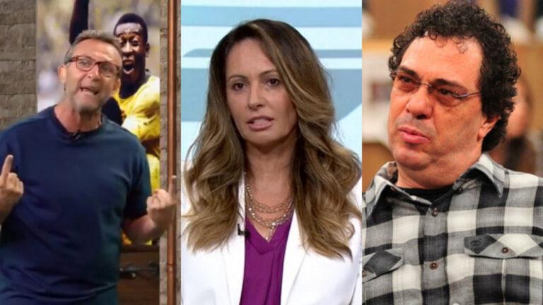 Ex-medalhista olímpica processa Globo e Band por opiniões de Neto e Casagrande