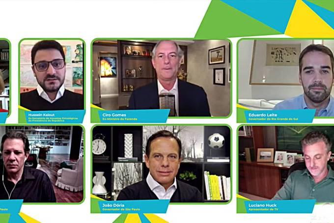 Ciro, Doria, Haddad, Huck e Eduardo Leite: presidenciáveis se unem em críticas a Bolsonaro