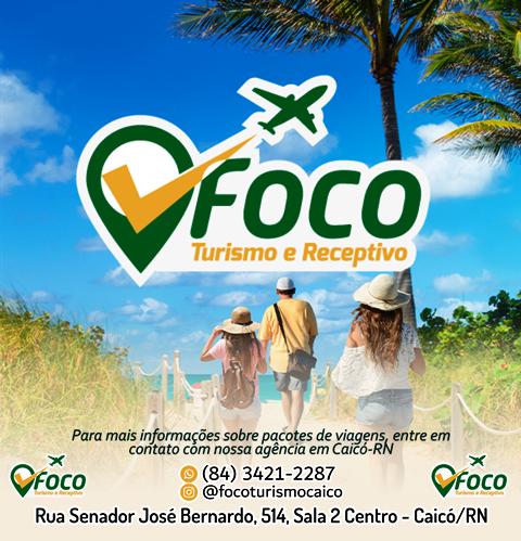 Quer viajar? A FOCO TURISMO tem os melhores pacotes em turismo e viagens para você!