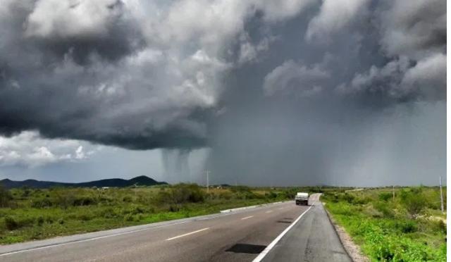 Previsão da semana com maior quantidade de chuvas no RN