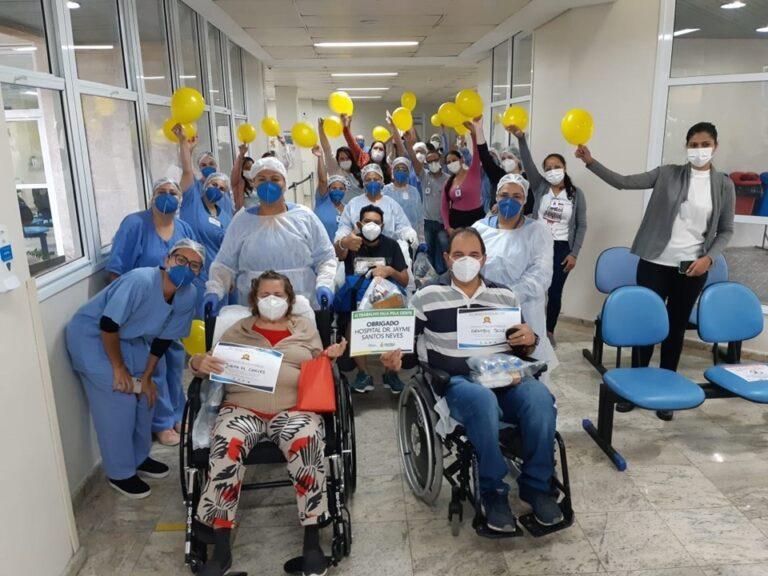 Brasil registra mais de 12,3 milhões de pessoas curadas da covid-19