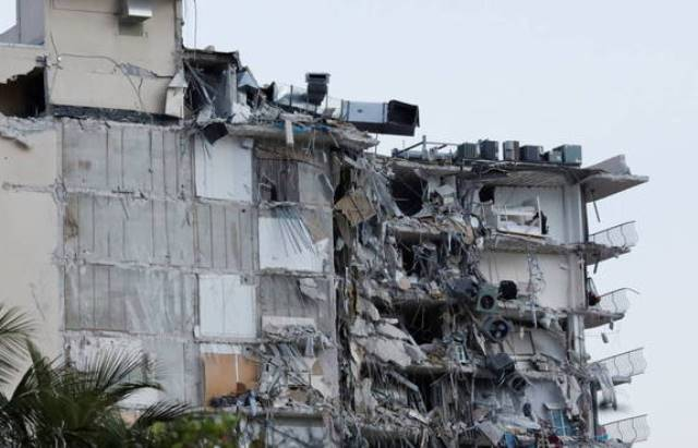 Desabamento de prédio em Miami deixa 1 morto e vários feridos