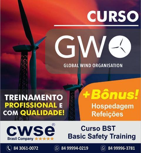 Quer ser um profissional na área de Energia Eólica? A CWSE Brasil tem o curso certo para você!
