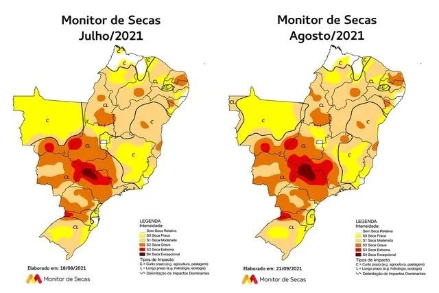 Área com seca grave sobe de 38% para 52% do RN; estado tem pior situação do Nordeste