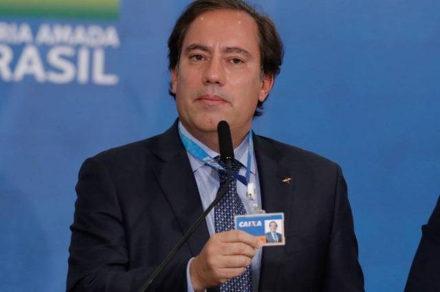 Presidente da Caixa é diagnosticado com Covid-19