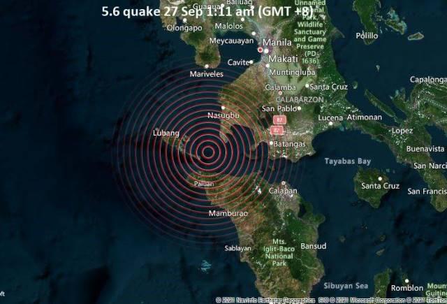 Filipinas: Terremoto de magnitude 5,7 atinge o Sul de Manila, capital do país