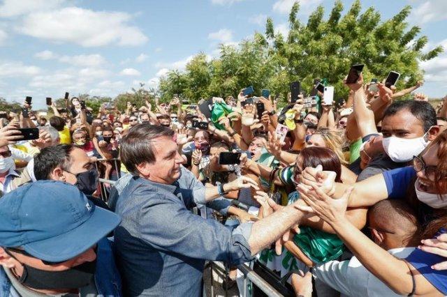Presidente Jair Bolsonaro desembarca no RN na próxima quarta-feira (20)
