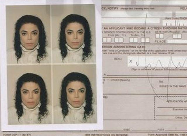 Documento de Michael Jackson antigo é vendido por R$ 409 mil na web